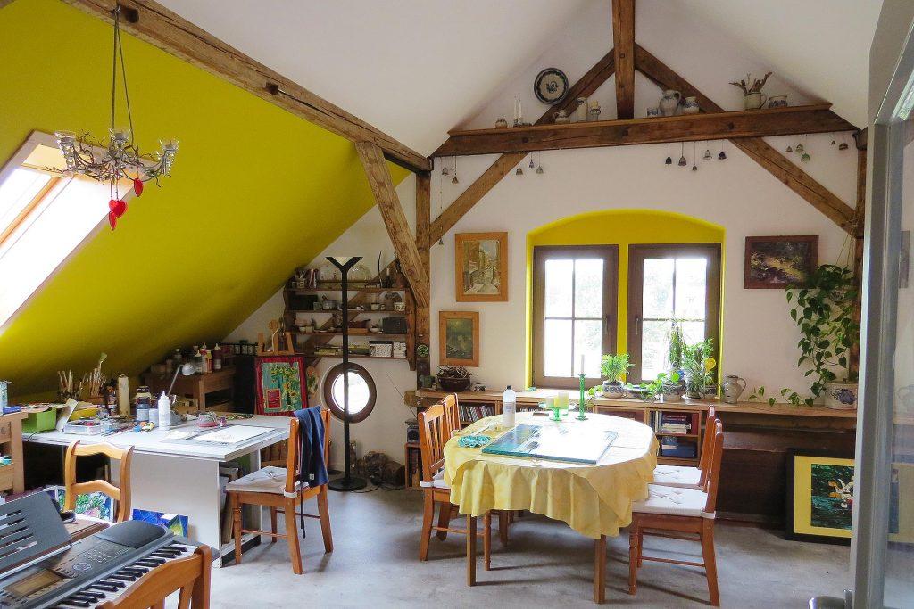 Kunst in Haus & Atelier – Malkurse mit Sonja Recknagel
