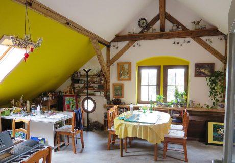Kunst in Haus & Atelier – Malkurse mit Sonja Drechsel-Walther